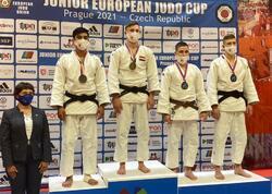 Cüdoçularımız Avropa Kubokuna 3 medalla başladı - FOTO