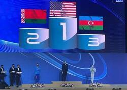 Gimnastlarımız İsraildə növbəti medallarını qazanıb - FOTO