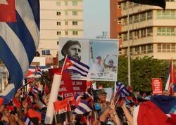 Kubanın paytaxtında hakimiyyətə dəstək mitinqi keçirilib