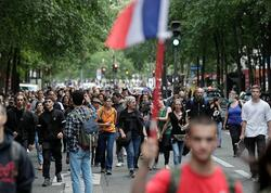 Fransada etiraz aksiyaları - 114 min sakin qoşuldu