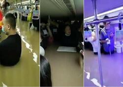Sel zamanı metro tunellərinə su dolub, ölənlər var - FOTO