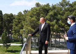 Prezident İlham Əliyev Naftalan Mərkəzi Sanatoriyasının açılışında iştirak edib - VİDEO - FOTO
