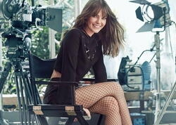 Aktrisa təbii görünüşü ilə heyran etdi - FOTO