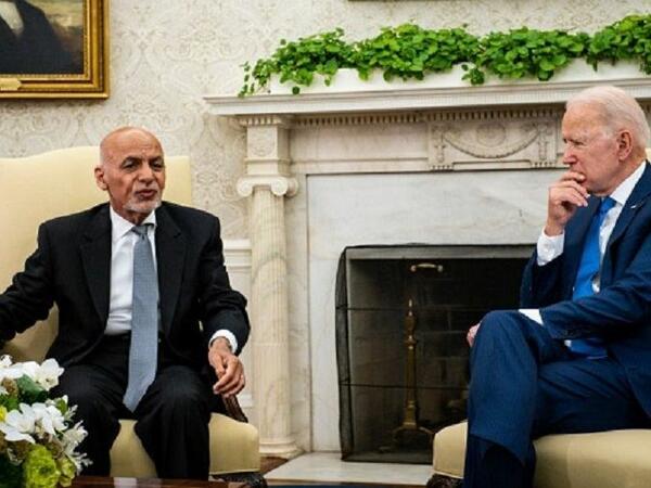 Əfqanıstan və ABŞ prezidentləri arasında telefon danışığı olub