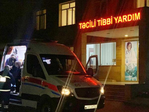 Gəncədə taksi sürücüsü bıçaqlanıb