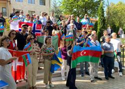 Azərbaycan diaspor nümayəndələrinin Şuşaya səfəri yekunlaşıb - FOTO