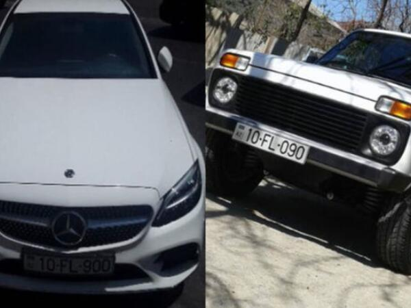 """""""Mercedes"""" qayda pozdu, cərimə """"Niva""""ya göndərildi: 090-la 900-ü kim səhv salıb?  - FOTO"""