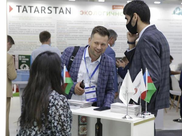 """Azərbaycan məhsulları """"Russia Halal Expo"""" sərgisində - FOTO"""