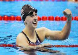 ABŞ üzgüçüsü 7-ci dəfə Olimpiadada birinci oldu