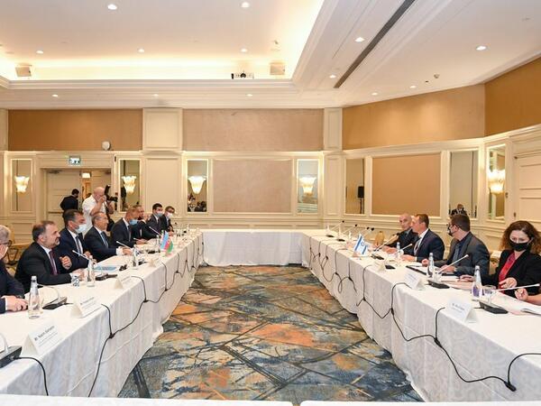 Azərbaycan-İsrail iqtisadi əlaqələri genişlənir - FOTO