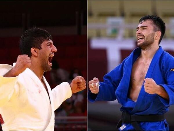 Gürcüstanın iki gümüş mükafatçısı Olimpiadadan qovuldu - FOTO