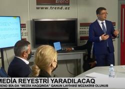 Medianın İnkişafı Agentliyi rəhbərliyinin Trend BİA-da keçirdiyi görüş Real TV-də yayımlanıb  - VİDEO