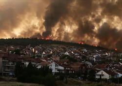 Makedoniyada da meşə yanğınları başladı