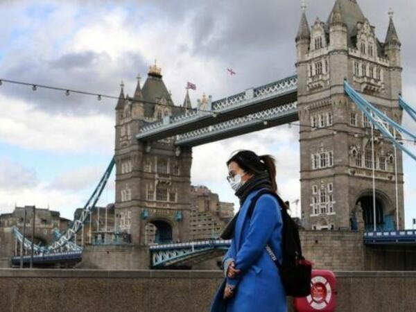 Britaniyada koronavirusa yoluxanların sayı 5,9 milyonu ötüb