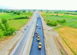 Gəncə-Qazax-Gürcüstan yolunun genişləndirilməsi nə vaxt yekunlaşacaq? - FOTOlar