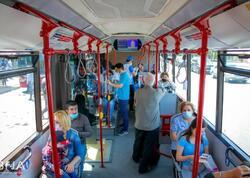 Avtobusda maska taxmayanlar cərimələnir