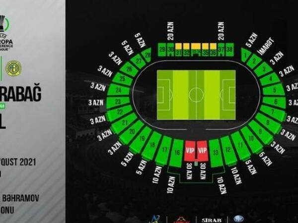 """""""Qarabağ"""" – AEL oyununun biletləri <span class=""""color_red"""">satışa çıxarılır</span>"""