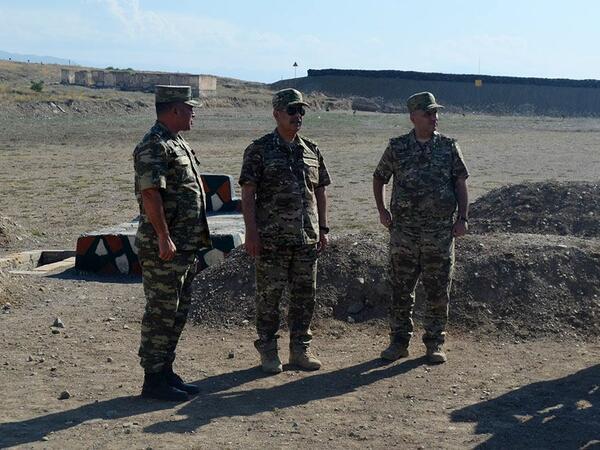 Nazir yeni açılmış hərbi obyektlərdə - VİDEO - FOTO