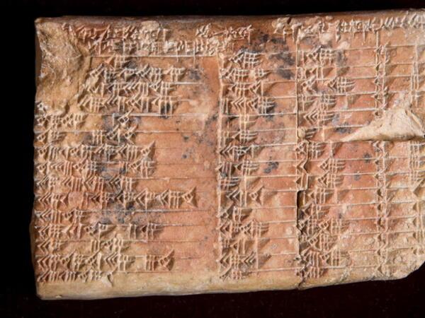 Babil lövhəsində tətbiqi həndəsədən istifadə edilmənin ən qədim nümunəsi tapılıb