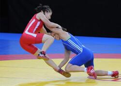 Qadın güləşçilərimiz MDB Oyunlarında üçüncü medalı qazandı