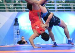 """Sərbəst güləşçilərimiz """"Kazan-2021""""də 7 medal qazanıblar - FOTO"""
