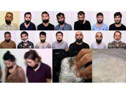 16 narkotacir yaxalandı - 2-si qadındır - VİDEO - FOTO