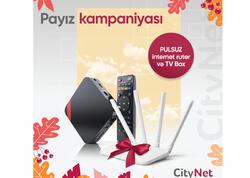 """""""CityNet""""dən Payız kampaniyası"""