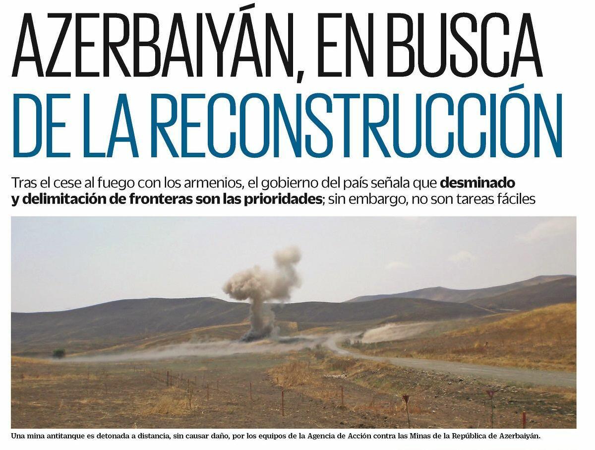 Meksikalı jurnalist Ermənistanın hərbi cinayətləri barədə yazıb - FOTO