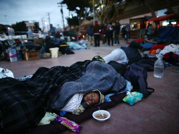 10 mindən çox haitili miqrant ABŞ-da sığınacaq istəyinə cavab gözləyir