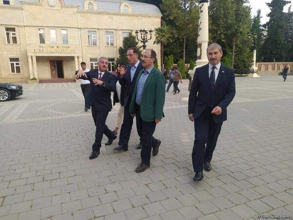 İƏT Ombudsmanlar Assosiasiyasının nümayəndə heyəti Tərtərə səfər edib - FOTO