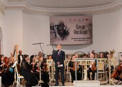 Üzeyir Hacıbəyli XIII Beynəlxalq Musiqi Festivalının təntənəli açılış mərasimi olub  - FOTO