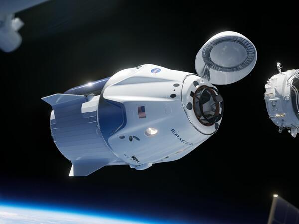 """&quot;Crew Dragon&quot; sərnişin kosmik gəmisi Atlantik okeanında eniş edib - <span class=""""color_red"""">VİDEO</span>"""