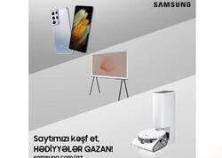 Samsung Azərbaycanda rəsmi veb saytını istifadəyə verir