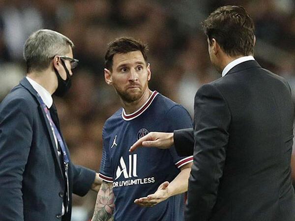 """Messi ilə Poçettino arasında qalmaqal - <span class=""""color_red"""">VİDEO</span>"""