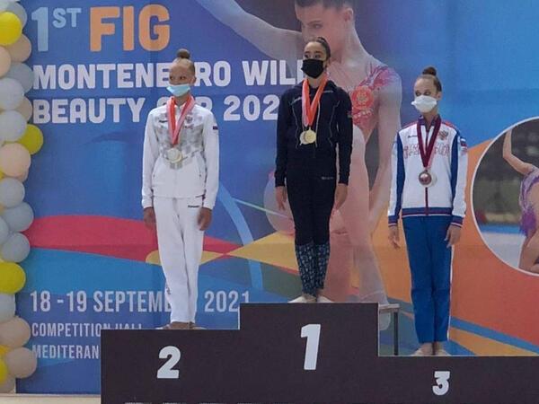 """Bədii gimnastlarımız Monteneqroda 6 medal qazandı - <span class=""""color_red"""">FOTO</span>"""