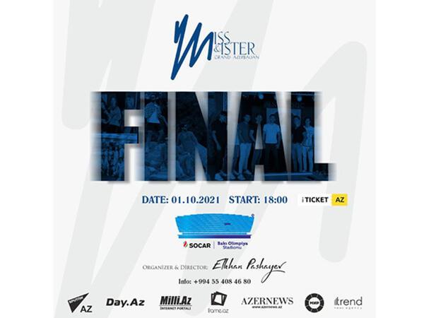 Miss & Mister Grand Azerbaijan 2021 final gecəsi baş tutacaq