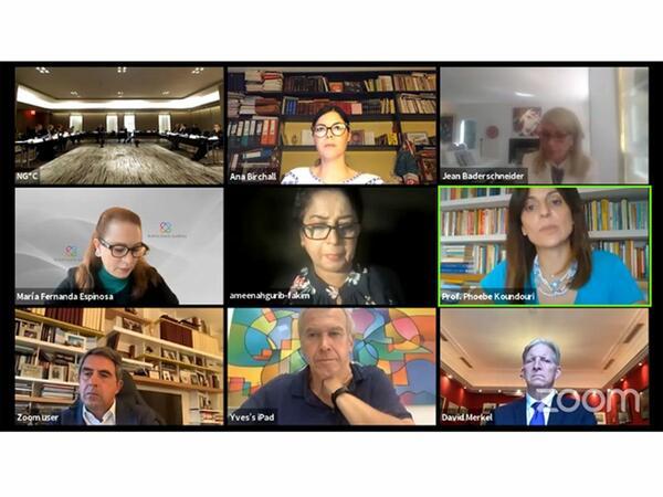 Nizami Gəncəvi Beynəlxalq Mərkəzi Ali Səviyyəli Hibrid toplantısını keçirir - CANLI YAYIM