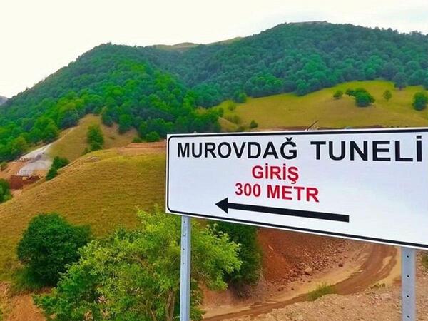 """Murovdağ tuneli xəbəri ilə bağlı <span class=""""color_red"""">rəsmi açıqlama</span>"""