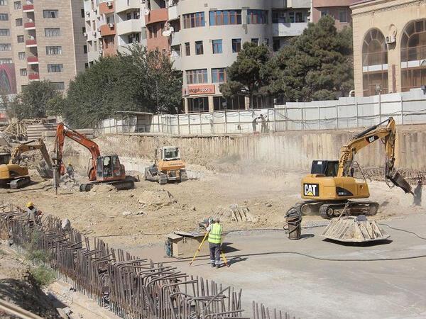 """Bakıda yeni metro stansiyasının inşasına başlanıldı - <span class=""""color_red"""">FOTO</span>"""