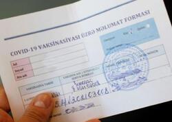 Saxta COVID pasportu satanlarla bağlı cinayət işi başlandı
