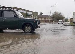 Leysan yağışlar Balakən və Zaqatalada infrastruktura ziyan vurub
