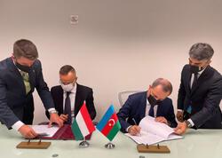 """Azərbaycan və Macarıstan arasında saziş imzalanıb - <span class=""""color_red"""">FOTO</span>"""