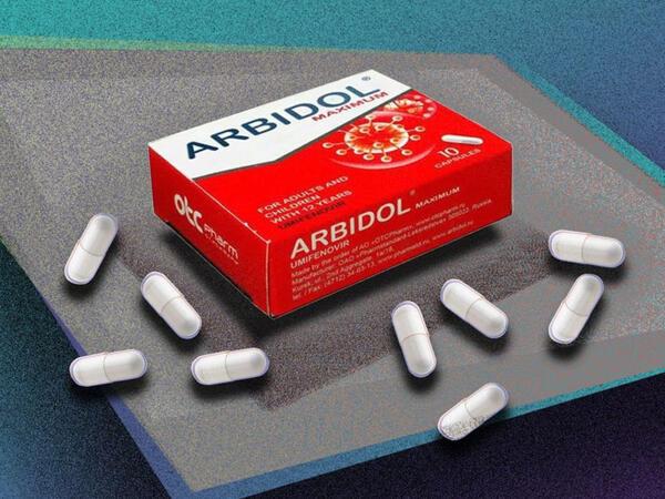 Arbidol kovidin müalicə sxemindən çıxarıldı - Təsir etmir