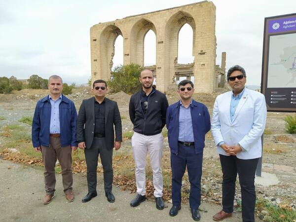 İƏT komissiyasının nümayəndə heyəti Ağdamda birgə faktaraşdırıcı missiya həyata keçirir - FOTO