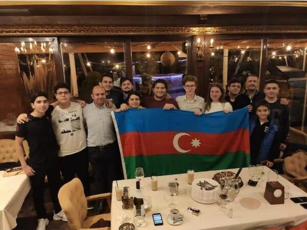 """""""Vüqar Həşimov"""" komandası klublararası Avropa kuboku yarışının bürünc medalını qazanıb - FOTO"""