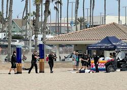 ABŞ-da polis sahildə idmançını güllələyib - VİDEO