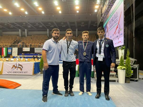 Gimnastımız Macarıstanda keçirilən Qran Pridə qızıl medal qazandı - FOTO