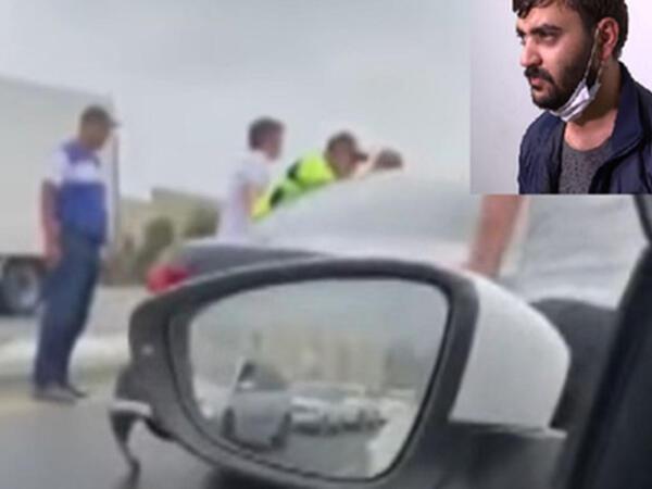 """Polisdən qaçan sürücünün 6 yaşlı oğlu da yanında olub - """"Marixuana çəkmişdim"""" - VİDEO"""