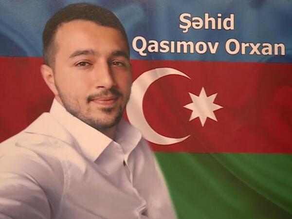 """Şəhid Orxan Qasımovun döyüş yolu - <span class=""""color_red"""">VİDEO</span>"""