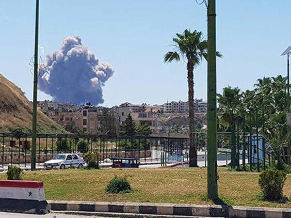 İranın Suriyadakı bazası bombardman edildi